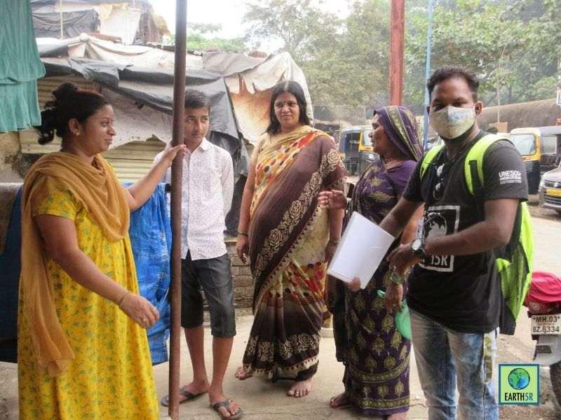 Mumbai-India-Environmental-NGO-Earth5R-Circular-Economy-segregation-community-training