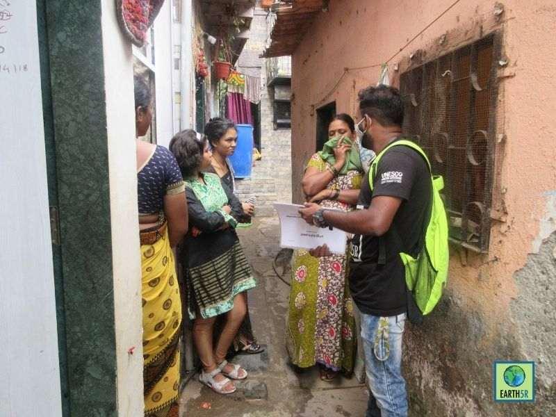 Mumbai-India-Environmental-NGO-Earth5R-Circular-Economy-segregation-community