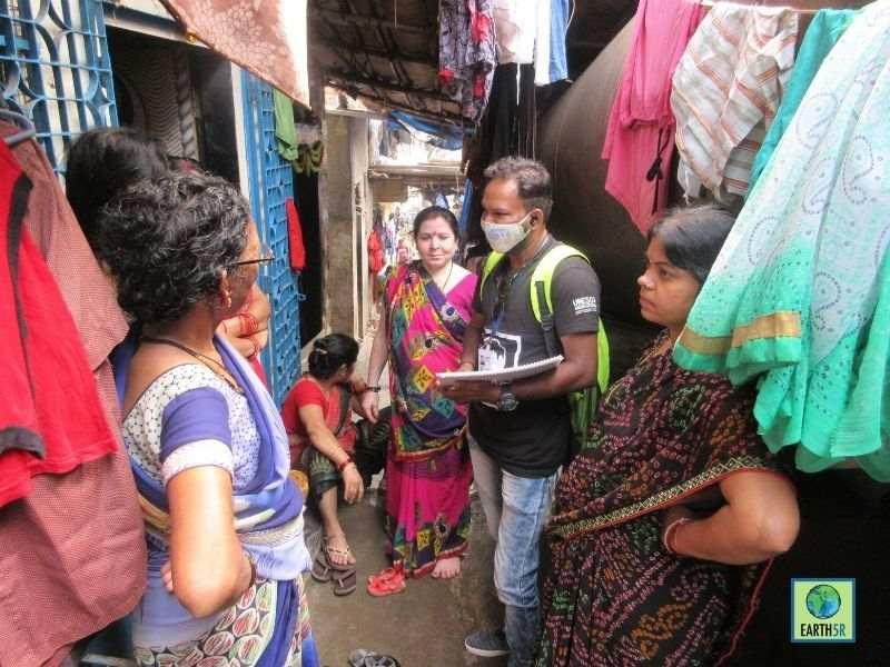 Mumbai-India-Environmental-NGO-Earth5R-Circular-Economy-segregation-training