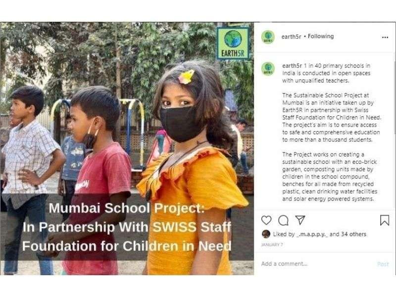 Mumbai-India-Environmental-NGO-Earth5R-Circular-Economy-waste-community-training-post