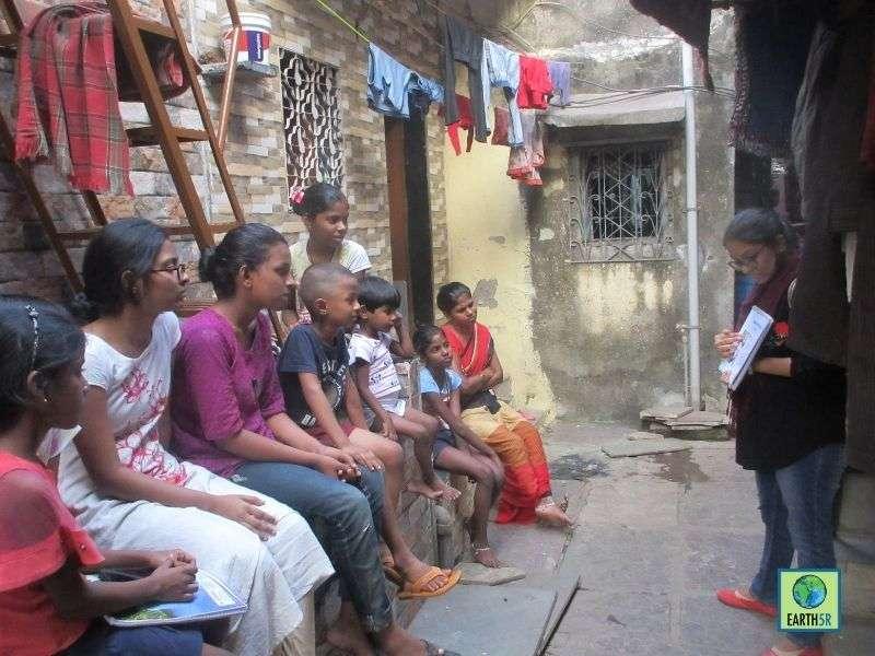 Mumbai-India-Environmental-NGO-Earth5r-Circular-Economy-volunteer