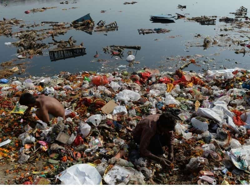Mithi River- Pollution- Mumbai Earth5R- Environmental NGO- River pollution- waste management