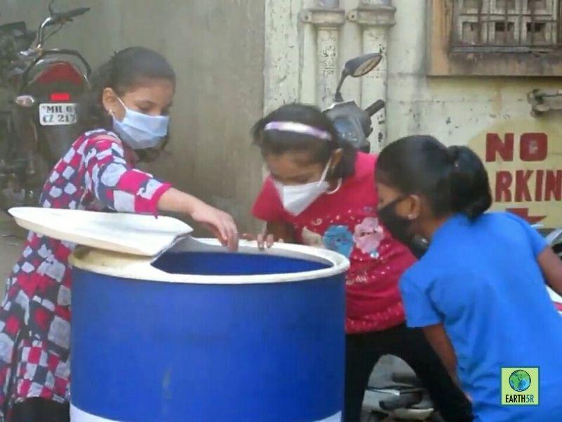 Mumbai-Circular-economy-program-waste-managment-swiss-airlines-school-recycle-segregation-training