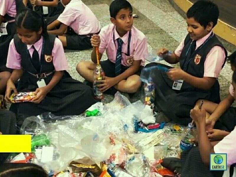 Mumbai-Circular-economy-program-waste-managment-swiss-airlines-school-students
