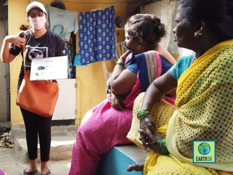 Mumbai-India-Environmental-NGO-Earth5r-Circular-Economy-training-plastic
