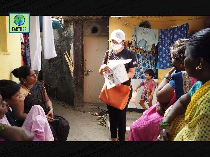 Mumbai-India-Environmental-NGO-Earth5r-Circular-Economy-training-reusing