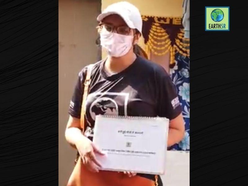 Mumbai-India-Environmental-NGO-Earth5r-Circular-Economy-training-volunteer