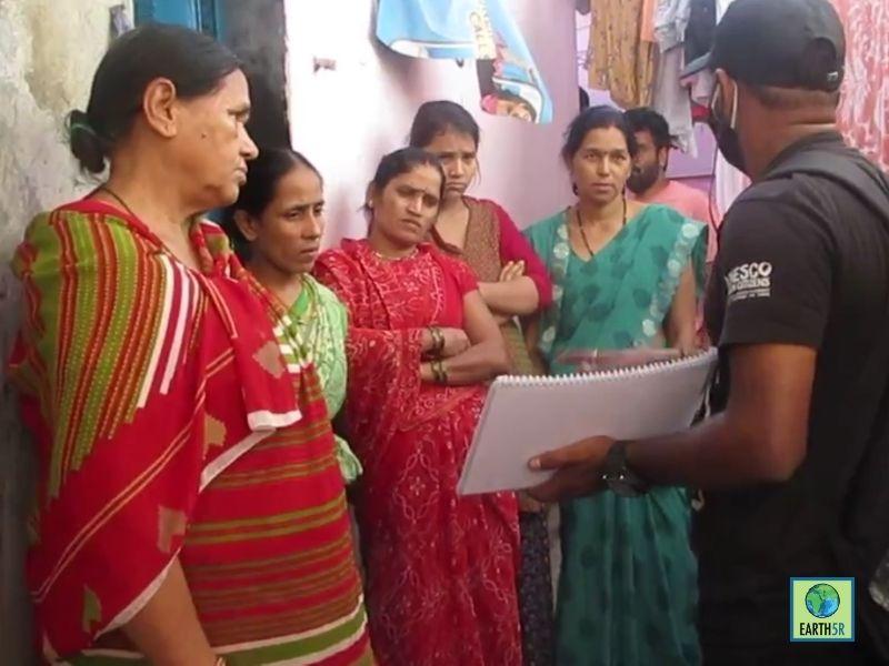Mumbai-India-Environmental-NGO-Earth5r-Circular-Economy-training-waste-management-slum