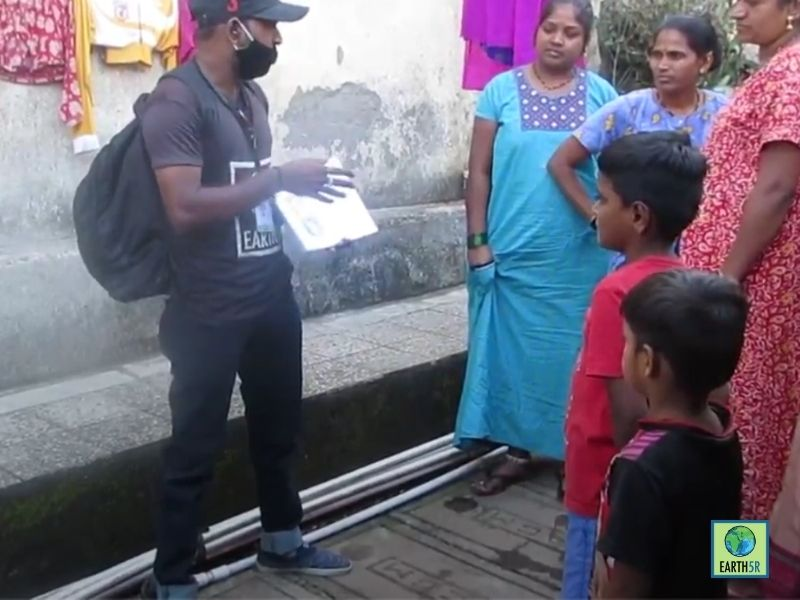 Mumbai-India-Environmental-NGO-Earth5r-Circular-Economy-training-waste-management-volunteer-compost