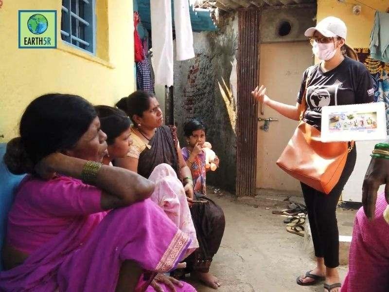 Mumbai-India-Environmental-NGO-Earth5r-Circular-Economy-training-waste-segregation