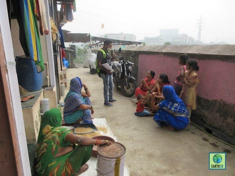 Mumbai-India-Environmental-NGO-Earth5r-Circular-Economy-volunteer-community-waste-management
