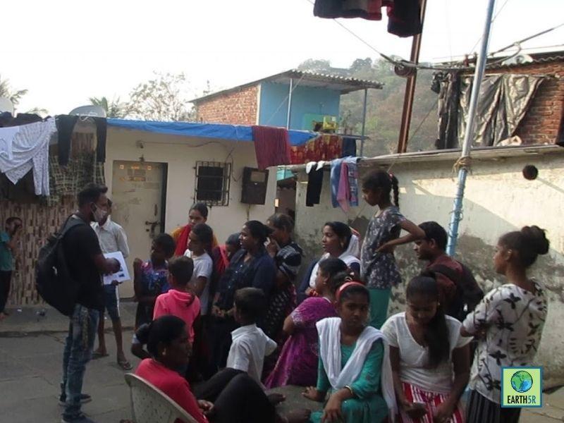 Mumbai-India-Environmental-NGO-Earth5r-Circular-Economy-volunteer-waste-management