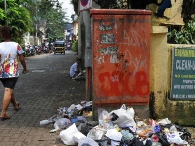 Wastes- Pollution-East Andheri-Mumbai- Earth5R- Environmental NGO- waste management