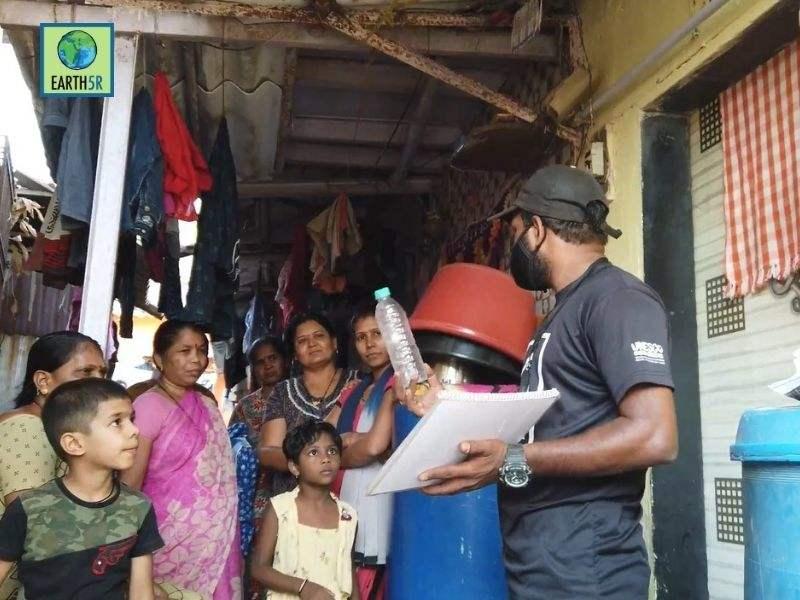 Mumbai-India-Environmental-NGO-Earth5R-Circular-Economy-waste-segregation