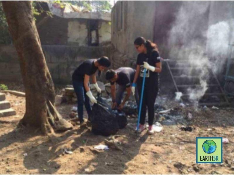 Mumbai-India-Environmental-NGO-Earth5R-Circular-Economy-plantation
