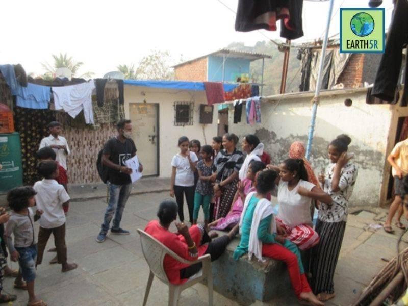 Mumbai-India-Environmental-NGO-Earth5R-Circular-Economy-sangharshnagar
