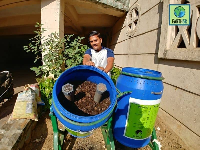 Mumbai-India-Environmental-NGO-Earth5R-Circular-Economy-compostbin