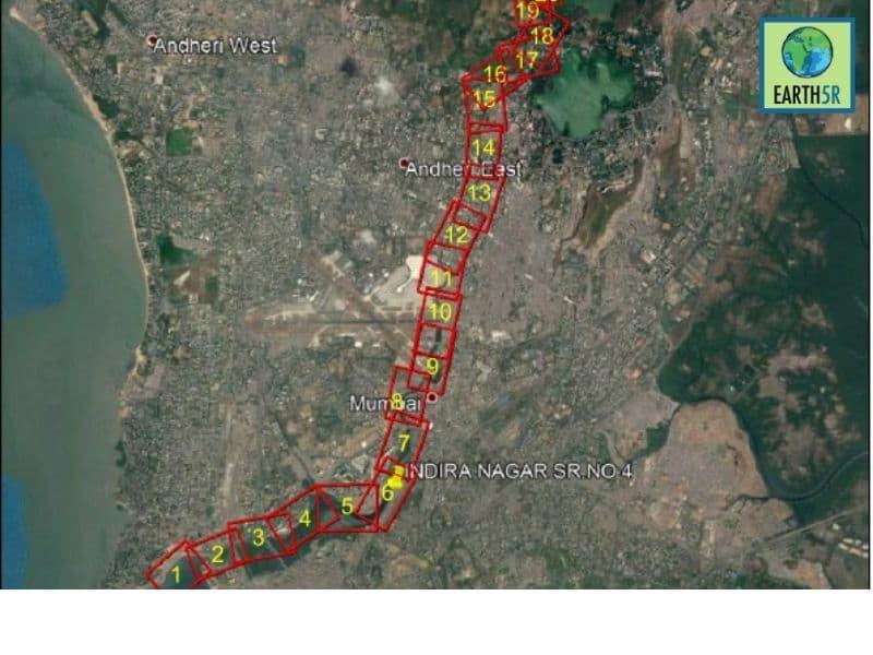 Mumbai-India-Environmental-NGO-Earth5R-Circular-Economy-mithi-river-map
