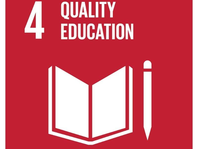 SDG 4- Sustainable Development Goal 4- Quality Education- Earth5R- Mumbai-India- Environmental NGO